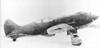 I-185 con rueda de cola retráctil, algo no muy común en la época